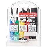 アネックス(ANEX) ドライバー セット 8本組 ケース付 No.5800 【まとめ買い12セット】