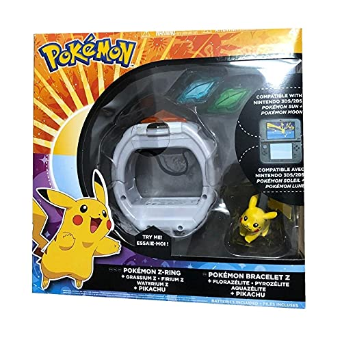 bamzok Pokemon Elf Ball Belt Pikachu Modelo Sol Y Luna Juego Vinculante 4D Somatosensorial Z Pulsera Z Cristal Figura De Acción Juguetes para Niños