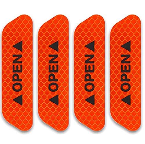 TRUE LINE Automotive Door Open Warning Reflective Marker Trim Molding Safety Kit...