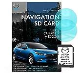 Original SD card GPS Navigation for Car Mazda 3|6|CX-3|CX-5|CX-9 Latest Update Voice Turn