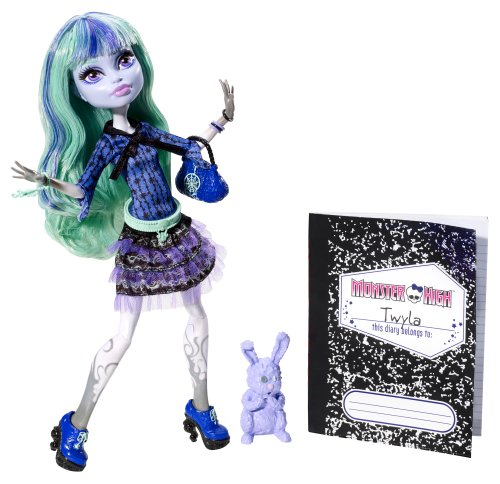 MONSTER HIGH Série *13 WISHES* Series - ASST. Y7707 Poupée Doll TWYLA Y7708