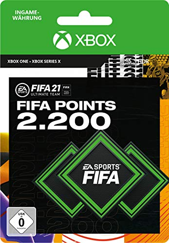 Preisvergleich Produktbild FIFA 21 Ultimate Team 2200 FIFA Points / Xbox - Download Code