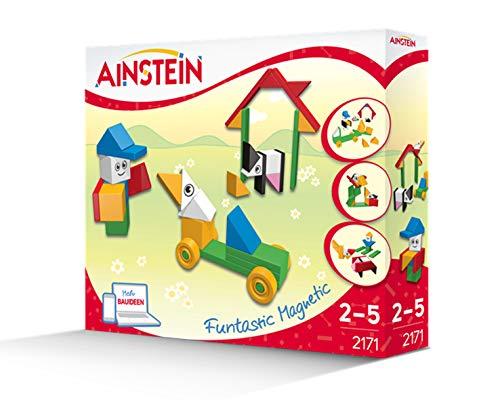 AINSTEIN 2171 - Lustiger Bauernhof, Förderung der Kreativität von Kindern, einzigartige Magnetbausteine