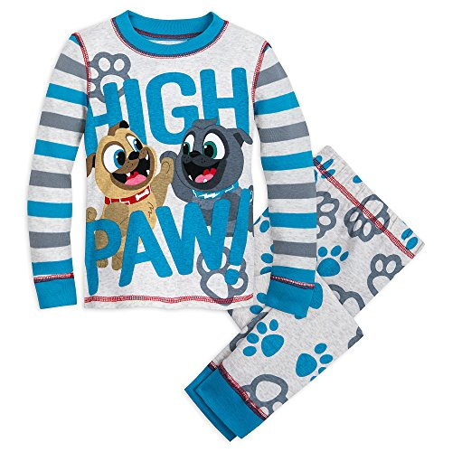 Disney Bingo and Rolly PJ PALS for Boys - Puppy Dog Pals Size 5 Multi