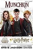 Juego de mesa Munchkin Harry Potter, con licencia oficial de Harry Potter, juego coleccionable de Steve Jackson