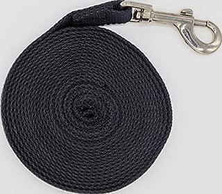 Justzon Cotton Web Dog Training Lead Black