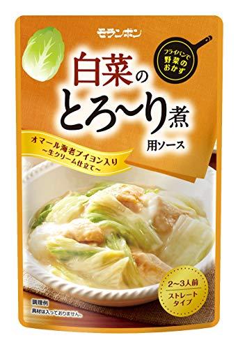 モランボン 白菜のとろーり煮用ソース 180g ×10袋