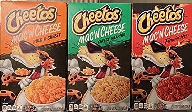 Cheetos Mac N Cheese Flavor Sampler