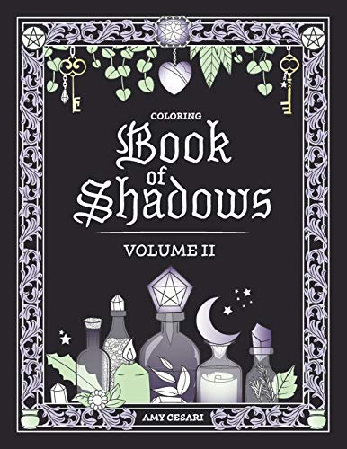 Coloring Book of Shadows: Volume II