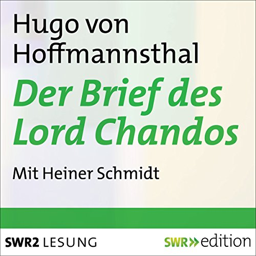 Der Brief des Lord Chandos Titelbild