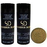 Fibras Capilares Salvathor Duran 25g x2 - Pack Dos Unidades - Hair Fiber Duo (50 gr. Total) (Rubio)