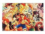 CosplayStudio Puzzle de One Piece con 1000 piezas, diseño de Ruffy's Adventures