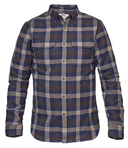 FJALLRAVEN Skog Shirt Flanellhemd Herren XL grün (Glacier Green)