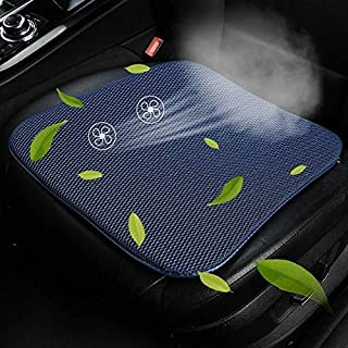 Universal Car Summer USB Cooling Pad Seat Cushion High Quality (Color : Blue)