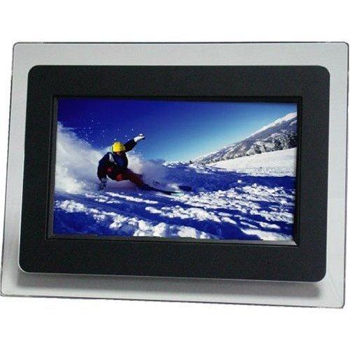 "9"" Emprex BPF-109D Widescreen Digital Photo Frame w/MP3 & 3 Interchangeable Frames (White, Silver & Black) Digital Frames Picture"