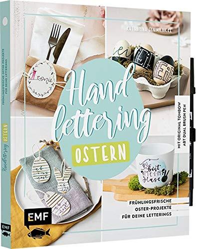 Handlettering Ostern: Frühlingsfrische Oster-Projekte für deine Letterings - Mit original Tombow ABT Dual Brush Pen