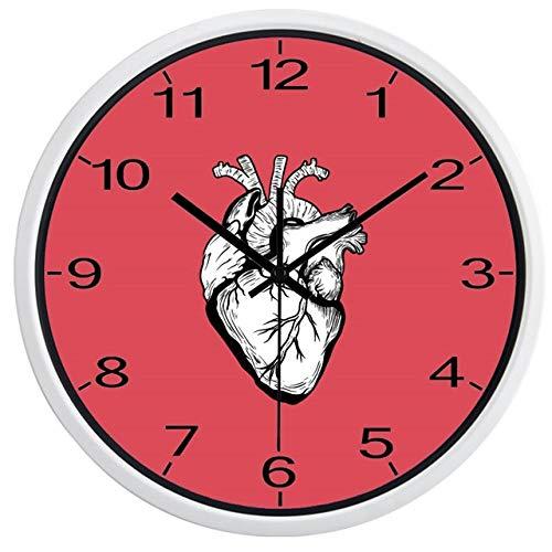 Horloge Murale Horloge Murale Coeur 14 Pouces B056W
