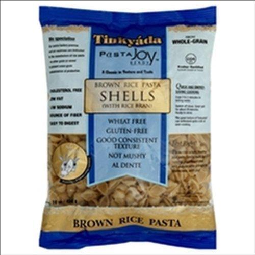 TINKYADA | Pasta-Shells / Brown Rice- [Gluten Free] 16 Oz [1 Pack]