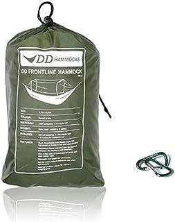 【限定版】DDハンモック DD Frontline Hammock - Forest green-Limited Edition フロントラインハンモック-フォレストグリーン リミッテドエディション & Mini Karabiners 2個付きセット [並行輸入品]