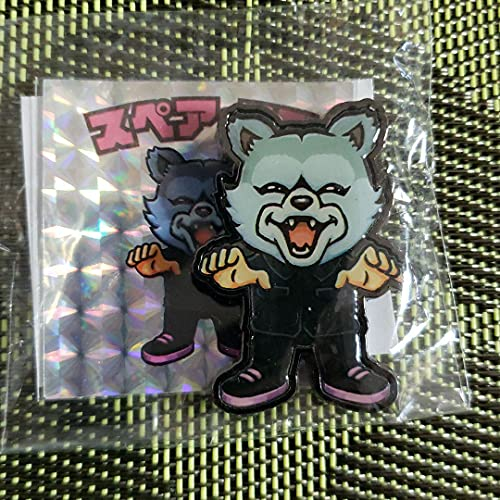 Pin badge MAN WITH A MISSION スペア リブ ピンバッジ