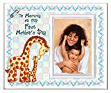 "to Mommy on Our First Mother's Day Picture Frame | 1st Mothers Day Picture Frame Gift | Holds 3.5"" x 5"" Photo 