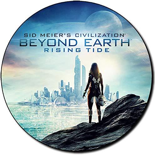 Civilization Beyond Earth Rising Tide Tappetino per Mouse Tondo Round Mousepad PC