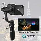 Zoom IMG-1 stabilizzatore gimbal 3 assi smartphone