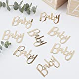 Ginger Ray Gold Foiled Baby Shower Konfetti