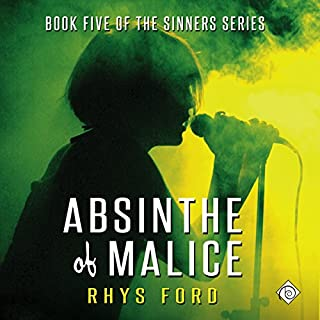 Absinthe of Malice audiobook cover art