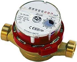 """Alta calidad medidor de flujo de agua caliente caliente 3/4""""de pulgada (1"""") BSP 4 de color rojo m3 / h"""