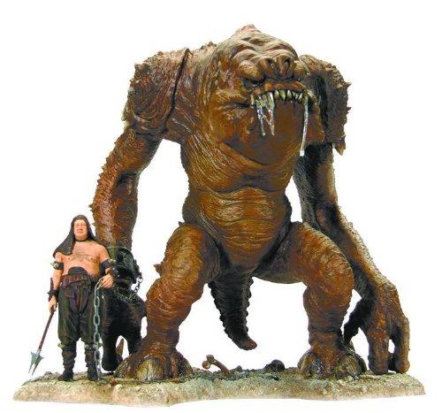 Preisvergleich Produktbild Star Wars: Rancor & Handler Statue