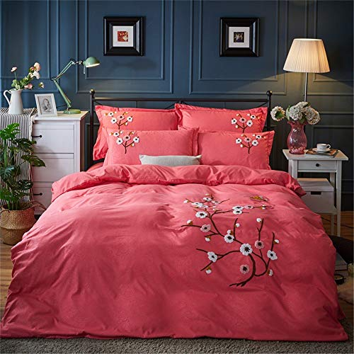 Nologo Bedding Set IBHT Four Sets Of Bed Bedding Set Of Four Cotton High-grade High-density Brushed Bed Linen Pillowcase Suitable For Home Interior new