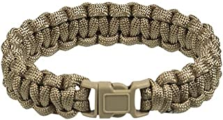 Mil-Tec Paracord Bracelet 15mm Coyote