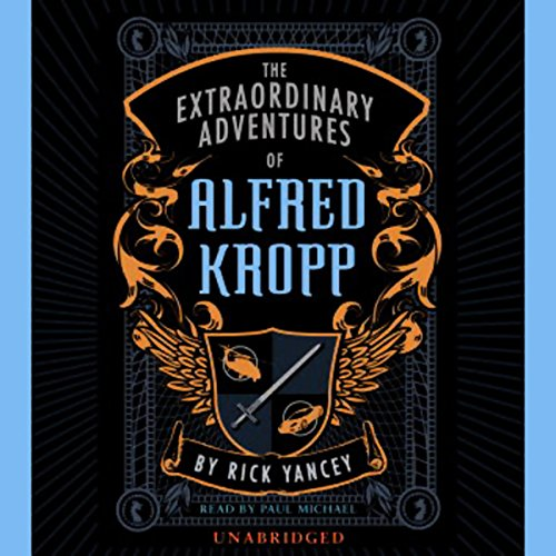 The Extraordinary Adventures of Alfred Kropp audiobook cover art