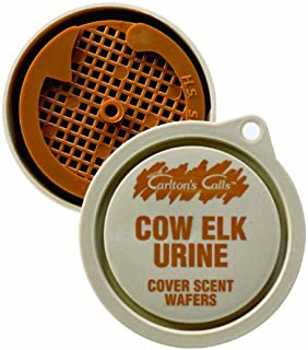Carlton's Calls Hunters Specialties Cow Elk Urine Cover Scent Wafers