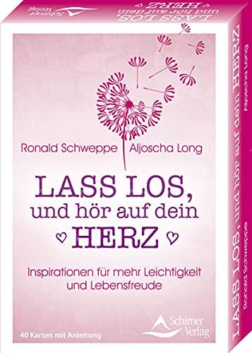 Lass los, und höre auf dein Herz- Inspirationen für mehr Leichtigkeit und Lebensfreude: - 40 Karten mit Anleitung