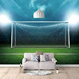 Papel Pintado 3D Gol Fotomurales Decorativos Pared 3D ART Póster Sala de Estar Dormitorio TV Fondo 400cm(W) x280cm(H)-8 Stripes