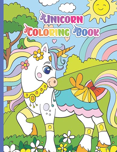 Unicorn Fairytale Coloring Book: For Kids, Tweens, Teens, Girls a Perfect Gift for your Favorite Unicorn Enthusiast!
