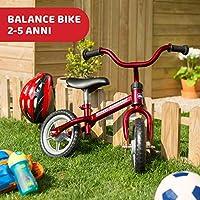 Chicco Red Bullet Bicicletta Bambini Senza Pedali 2-5 Anni, Bici Senza Pedali Balance Bike per l'Equilibrio, con Manubrio e Sellino Regolabili, Max 25 Kg, Rosso, Giochi Bambini 2-5 Anni #1