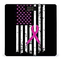ピンクリボン乳がん啓発フラグ LCDディスプレイ付き高精度スマートフィットネススケール体重デジタルバスルームボディスケール