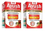 Aimil Ayush Kwath Powder 90 gm (Pack of 2) | Immunity Booster | 90 * 2=180 gm