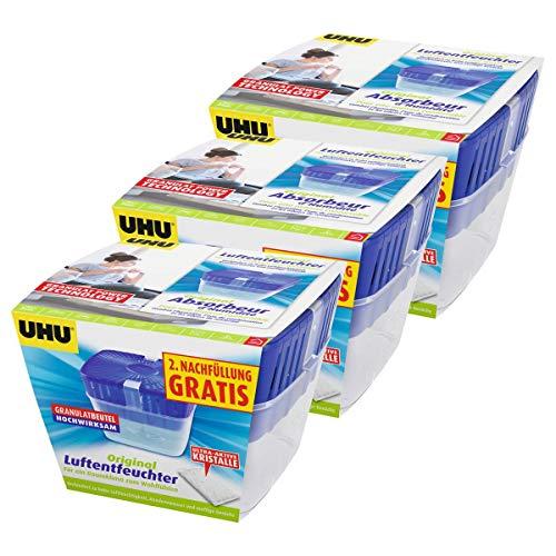 UHU air max Luftentfeuchter 450g (3er Sparpack, Luftentfeuchter)