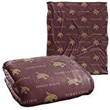 Texas State University Bobcats Blanket, 50' x 60', Logo Pattern, Silky Touch Super Soft Throw