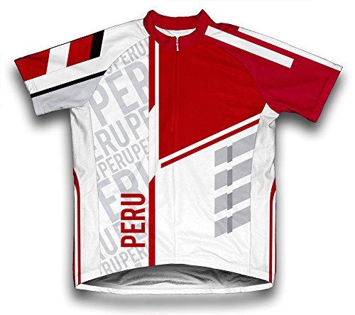ScudoPro Peru Maillot Cycliste à Manches Courtes pour Hommes -