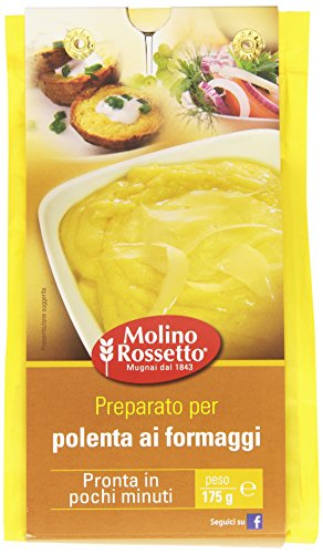 Molino Rossetto - Preparato, Per Polenta Ai Formaggi - 175 G