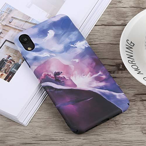 CHANYO Caso para el iPhone Teléfono XR Caja Protectora de la PC Caja del teléfono móvil Luminoso Modelo Abstracto for el iPhone XR