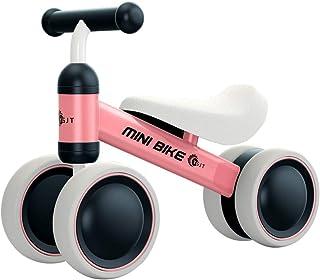 YGJT Bicicleta sin Pedales 1 Año Juguetes Bebes - Triciclos Bebes- Correpasillos Bebes 1 Año Regalo para 1 Año Rosado