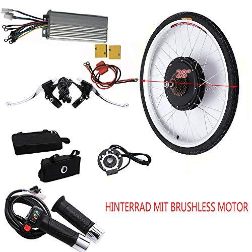 """MOMOJA 28\""""36 V 1000 Watt Elektrofahrrad Umbausatz E-Bike Hinterrad Radfahren Hub Fahrrad Motor Radfahren Räder (Hinterrad)"""