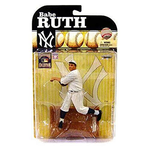 McFarlane Toys MLB Cooperstown Series 6 Action Figure Babe Ruth (New York Yankees) by Unknown