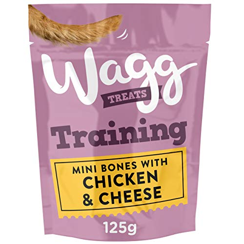 Wagg Training Dog Treats With Chicken and Cheese 125 g, Pack of 7